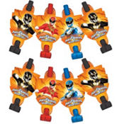 Power Rangers Blowouts 8ct