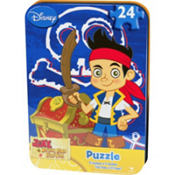 Jake and the Never Land Pirates Mini Puzzle 24pc
