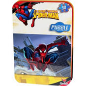 Spider-Man Puzzle Tin 50pc