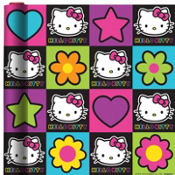 Neon Hello Kitty Gift Wrap