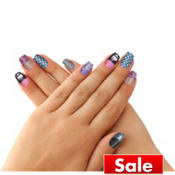 Monster High Nail Skins 12ct