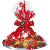 Holiday Bloom Cookie Bags 18in x 16in 6ct