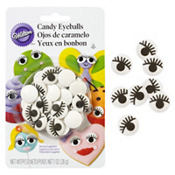 Candy Eyes Icing Decorations 24ct