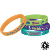 Scooby-Doo Wristbands 4ct