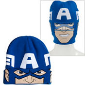 Captain America Roll-Down Mask Beanie