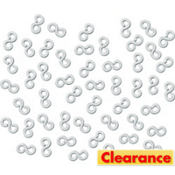 Loom Band S-Clasps 50ct