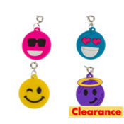 Loom Band Smiley Charms 4ct