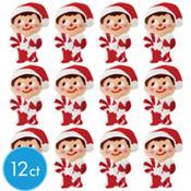 Elf Icing Decorations 12ct
