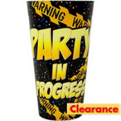 Warning Party Cup