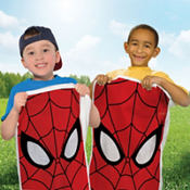 Spider-Man Potato Sack Race Bags 6ct
