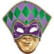 Jester Mardi Gras Mask