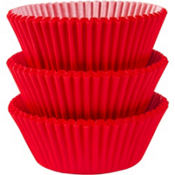 Red Baking Cups 75ct