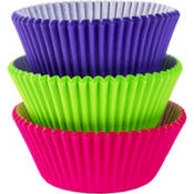 Neon Baking Cups 75ct