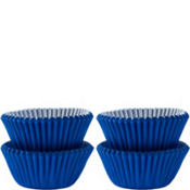 Mini Royal Blue Baking Cups 100ct