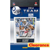 2014 Indianapolis Colts Team Cards 13ct