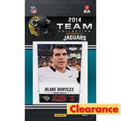 2014 Jacksonville Jaguars Team Cards