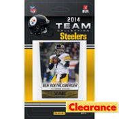 2014 Pittsburgh Steelers Team Cards 13ct