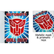 Jumbo Transformers Invitations Deluxe 8ct