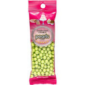 Kiwi Green Candy Pearls