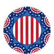 American Pride Patriotic Dessert Plates 60ct