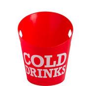 Cold Drinks Plastic Ice Bucket