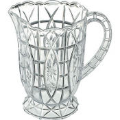 Plastic Crystal Cut Pitcher 2qt