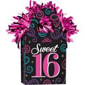 Celebrate Sweet 16 Balloon Weight