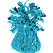 Caribbean Blue Foil Balloon Weight