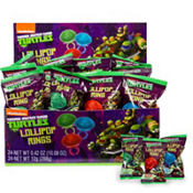 Teenage Mutant Ninja Turtles Lollipop Rings 24ct
