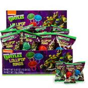 Teenage Mutant Ninja Turtles Lollipop Rings 24ct