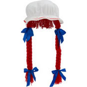 Rag Doll Bonnet with Braids