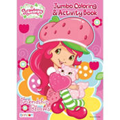 Strawberry Shortcake Coloring & Activity Book