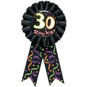 30 Rocks Award Ribbon 6in