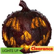 Light-Up Bloody Pumpkin