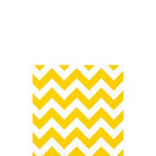 Sunshine Yellow Chevron Beverage Napkins 16ct