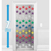 Multicolor Star String Decorations 7ft 6ct