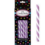 Lavender Candy Sticks 25pc