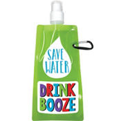 Save Water Drink Booze Flexible Flask
