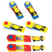 Race Cars with Launchers 6ct
