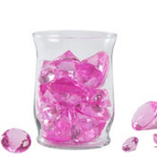 Bright Pink Diamond Table Scatter