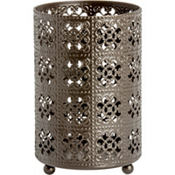 Filigree Pillar Candle Luminary