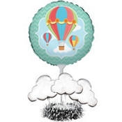 Up & Away Baby Shower Balloon Centerpiece Kit