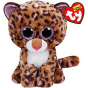 Patches Beanie Boo Leopard Plush