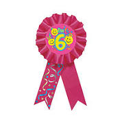 6th Birthday Smile Award Ribbon