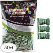 Festive Green Chevron Pillow Mints 50ct