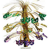Cascade Mardi Gras Centerpiece 18in