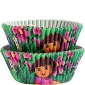 Dora The Explorer Baking Cups 50ct