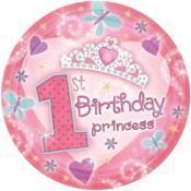 Princess 1st Birthday Party Supplies