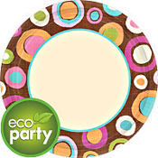 Cocoa Dots Party Supplies