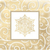 Shimmering Snowflake Party Supplies